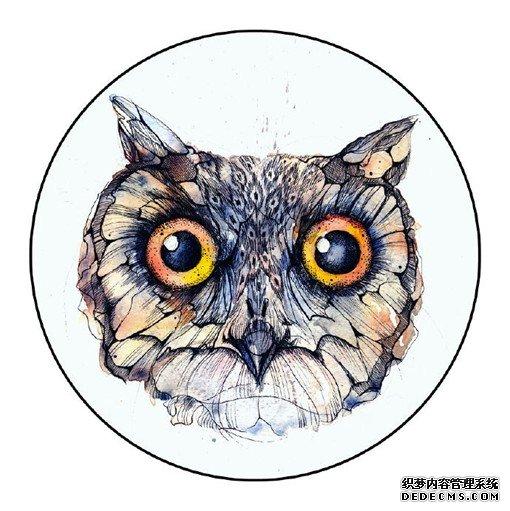 生动唯美的小动物水彩插画插图欣赏