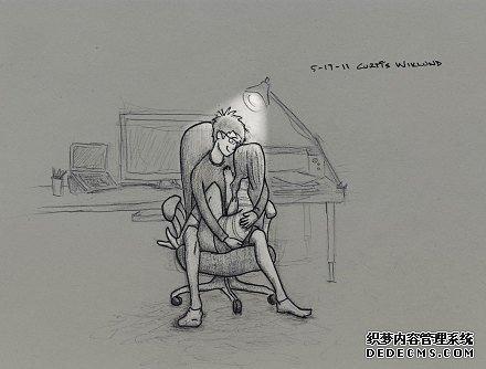 温馨甜蜜的情侣日常生活小插画插图,暖死单身_www.psb60.net