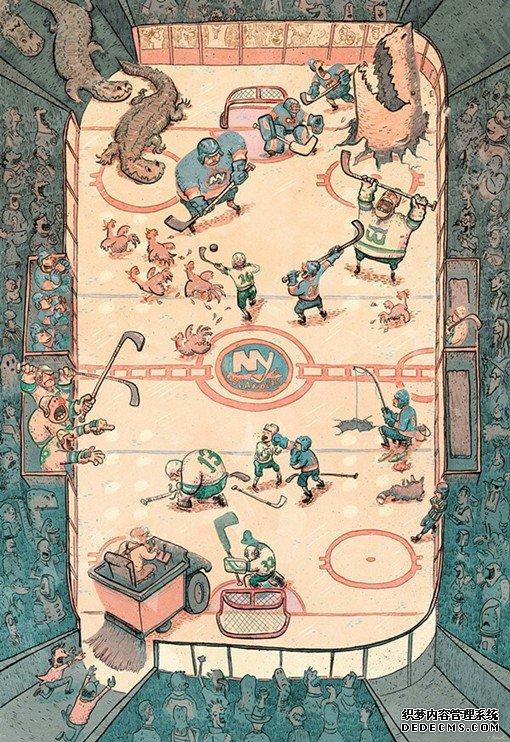美式童话故事中的插画插图创作_www.psb60.net