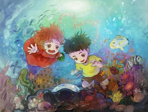韩国pixiv插画师SAYA的浪漫系艳丽色彩插画欣赏_www.psb60.net